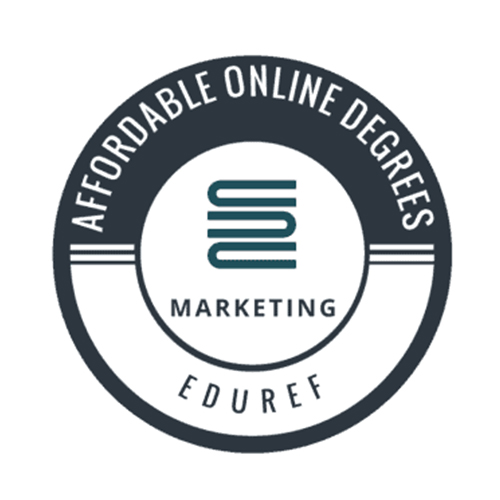 16th Most Affordable Online Marketing Degree