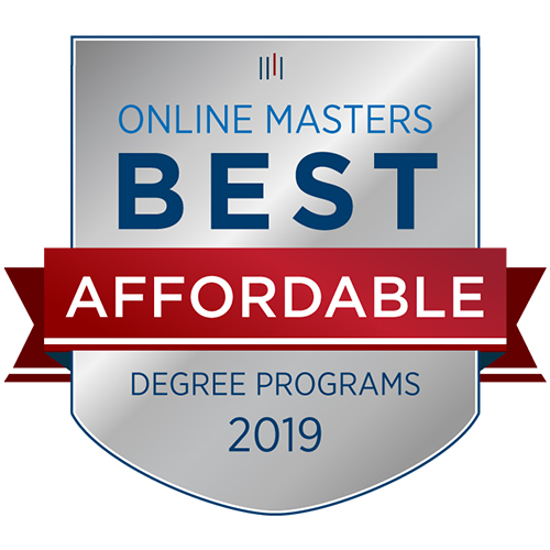 Most Affordable Online Masters 2019