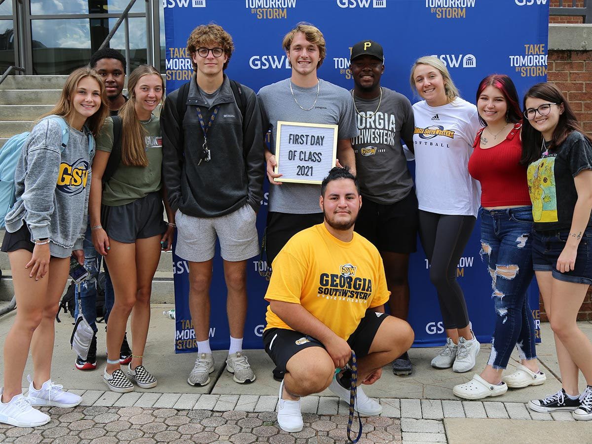Leadership Students First Day of Class '21