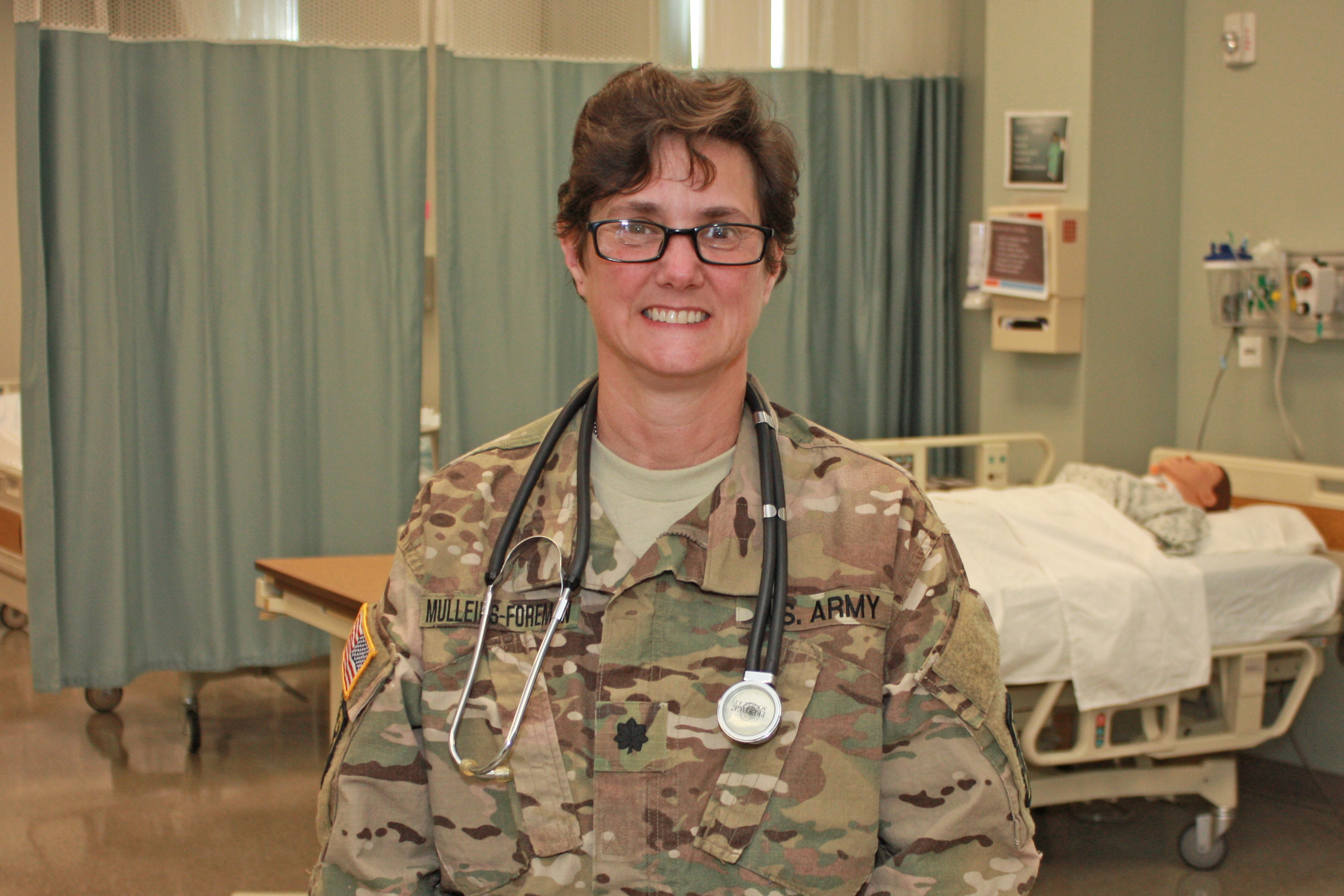 Ramona Mulleins Foreman in uniform